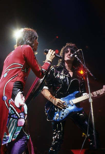 Photograph - Steven Tyler And Joe Perry by Rich Fuscia