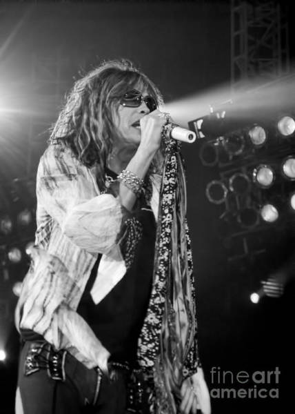 Wall Art - Photograph - Steven Tyler In Concert by Traci Cottingham