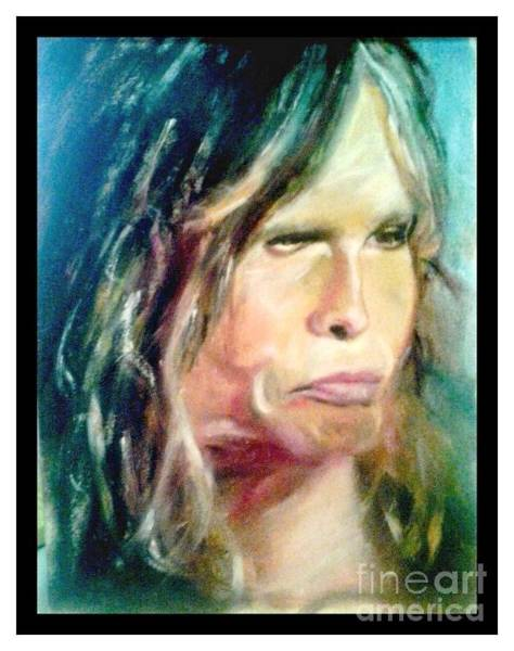 Steven Tyler Painting - Steven Tyler by Nancy Colandrea