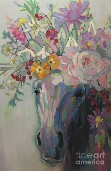 Wall Art - Painting - Steven's Bouquet by Kimberly Santini