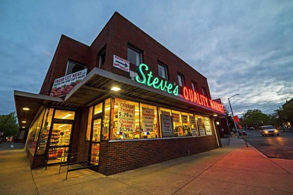 Photograph - Steve's Quality Market Downtown Salem Ma by Toby McGuire
