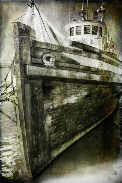 Photograph - Steveston Fishing Boat 2 by Theresa Tahara