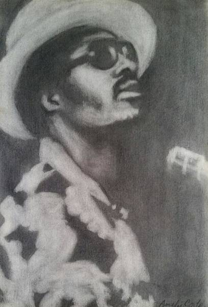 Painting - Stevie by Amelie Simmons