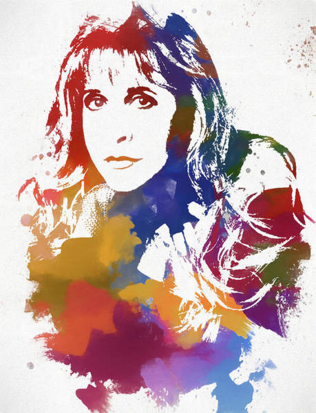 Wall Art - Painting - Stevie Nicks by Dan Sproul