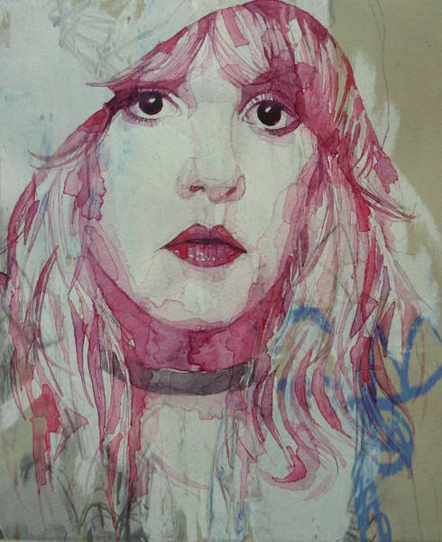 Usa Painting - Stevie Nicks - Gypsy  by Paul Lovering
