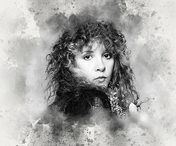 Stevie Nicks Digital Art - Stevie Nicks by Karl Knox Images