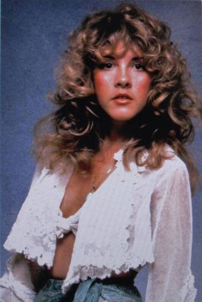 Stevie Nicks Photograph - Stevie Nicks In Curls by Donna Wilson