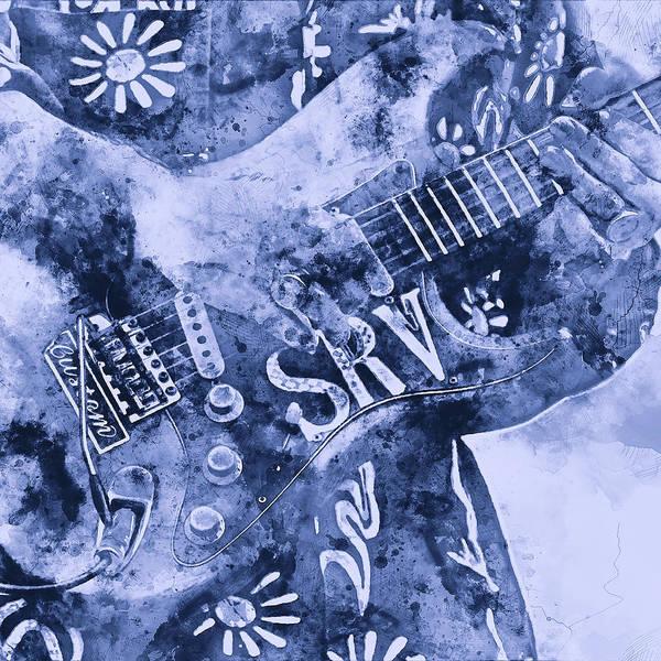 Stevie Ray Vaughan - 04 Art Print