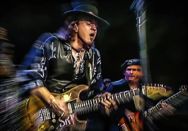 Photograph - Stevie Ray Vaughan - Couldn't Stand The Weather by Glenn Feron