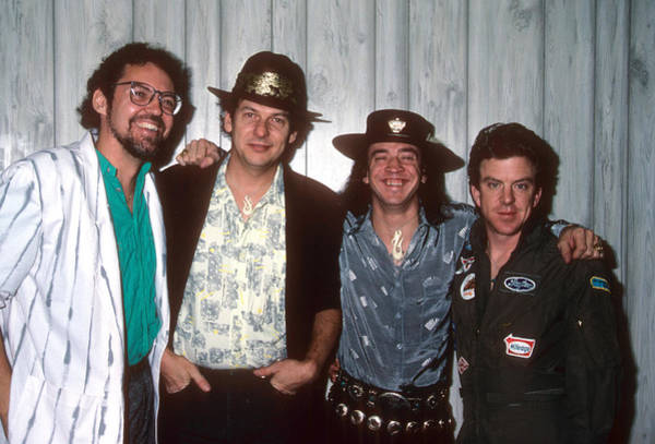 Photograph - Stevie Ray Vaughan And Double Trouble by Rich Fuscia