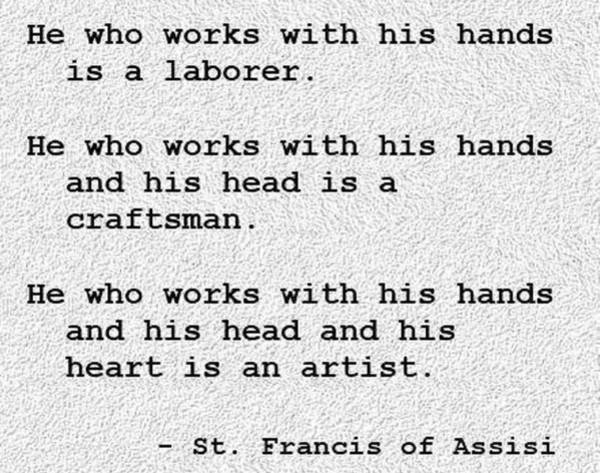 Photograph - St.francis Of Assisi by VIVA Anderson