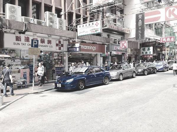 Wrx Photograph - Sti In Hong Kong by Bruno TheBear