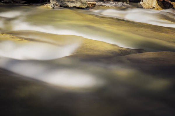Photograph - Stickney Brook Abstract by Tom Singleton