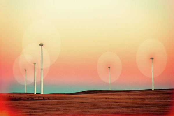 Wind Farm Photograph - Sticks by Todd Klassy