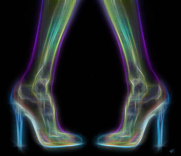 Digital Art - Stilettos by Kenneth Armand Johnson
