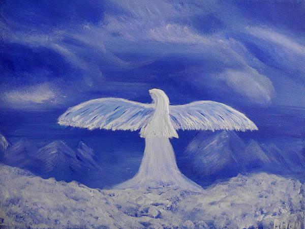 Painting - Still An Angel by Bernd Hau