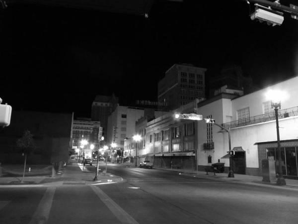 Downtown El Paso Photograph - Still And At Peace by Nicholas Haddox