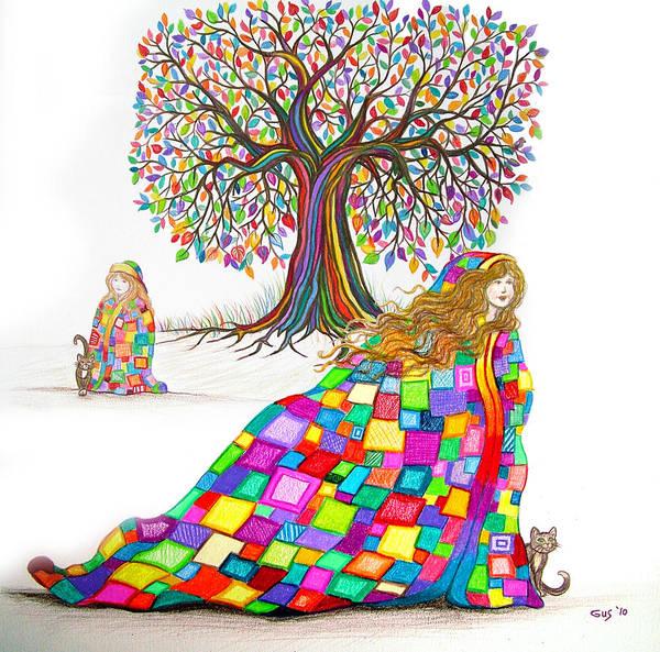 Quilt Digital Art - Still Dreaming by Nick Gustafson