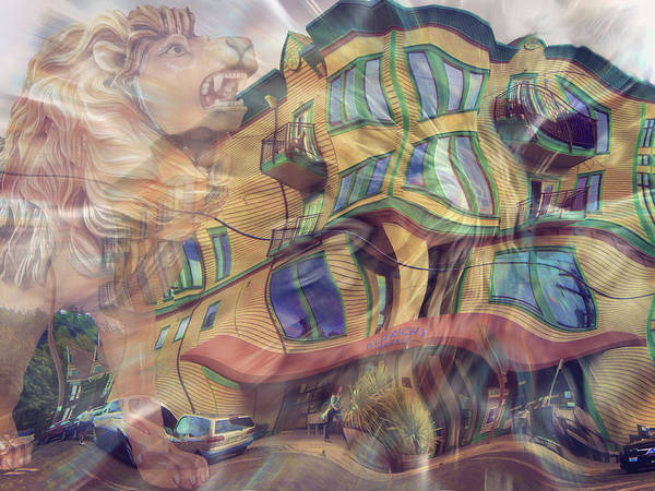 Port Townsend Digital Art - Still Feeling Funny In Port Townsend by Glen Faxon