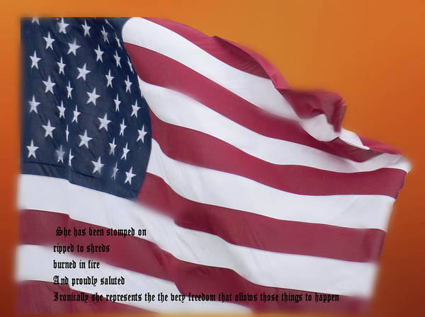 Digital Art - Still Flying High On The 4th Of July by Rusty R Smith