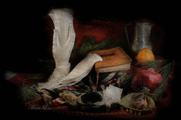 Digital Art - Still Life 4102a by Michele A Loftus