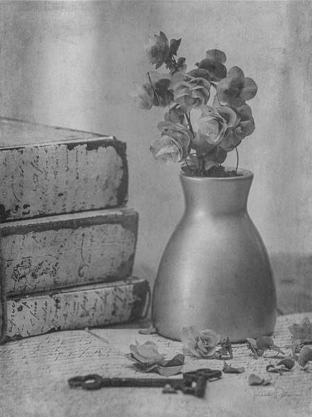 Photograph - Still Life 8268 In Black And White by Teresa Wilson