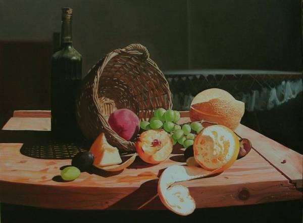 Wall Art - Painting - Still Life by Adrian Borda
