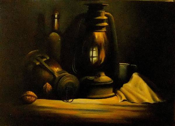 Benny Painting - Still Life by Benny Brimmer