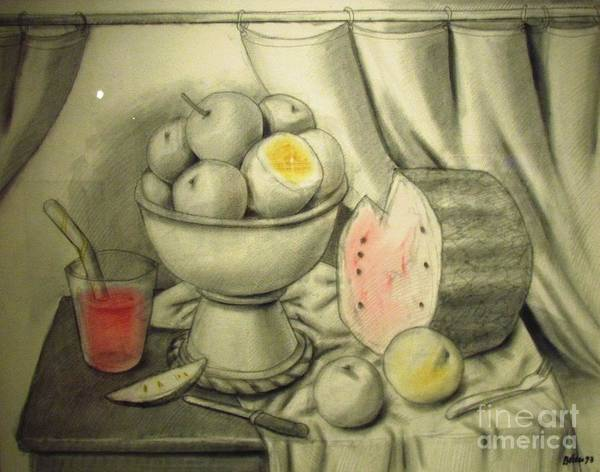 Photograph - still life Botero  by Ted Pollard