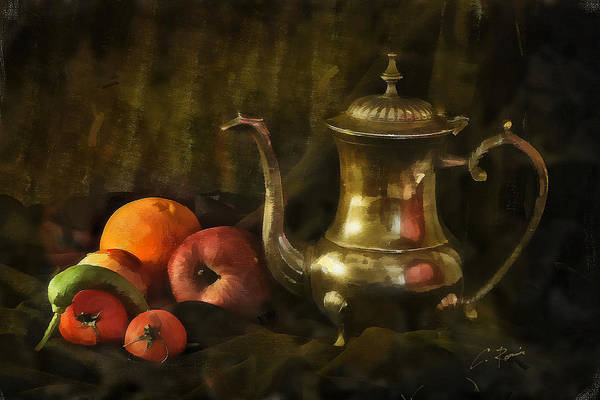 Digital Art - Still Life by Charlie Roman