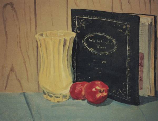 Painting - Still Life In College by Suzn Smith