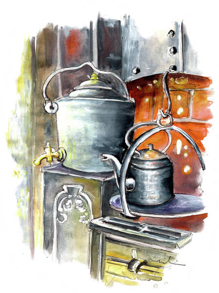 Painting - Still Life In Wensleydale Creamery 01 by Miki De Goodaboom