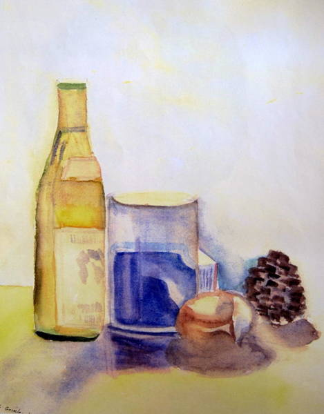 Wall Art - Painting - Still Life  by Lessandra Grimley