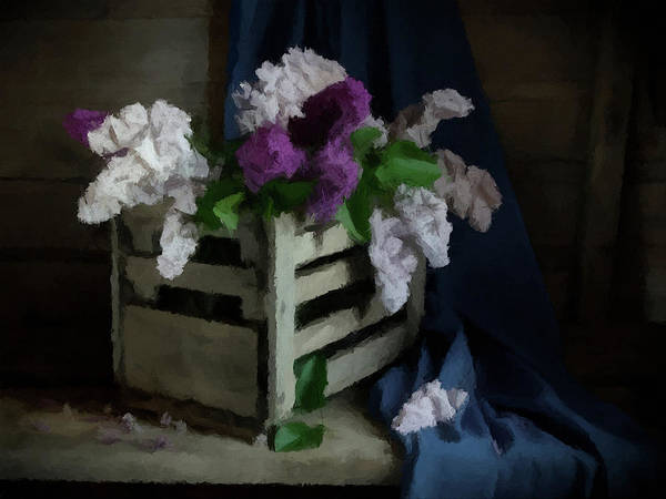 Photograph - Still Life Lilac  by David Dehner