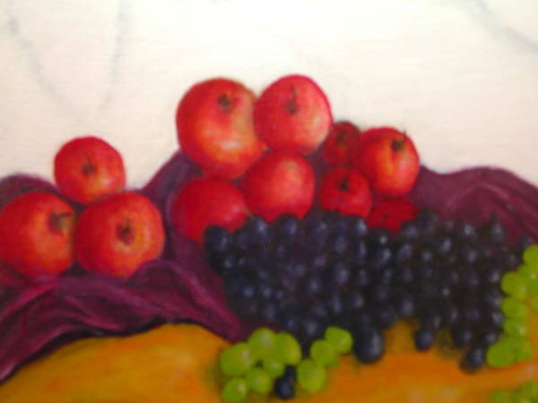 Wall Art - Painting - Still Life Of Fruit by Michael L Brown