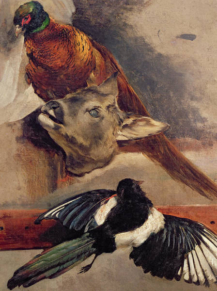 Wall Art - Painting - Still Life Of Game by Theodore Gericault