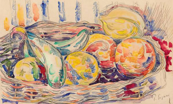 Veg Painting - Still Life  by Paul Signac