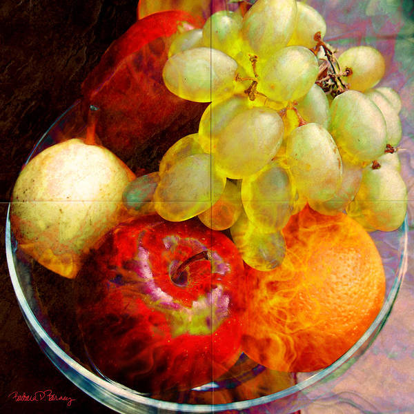Digital Art - Still Life Tiles by Barbara Berney