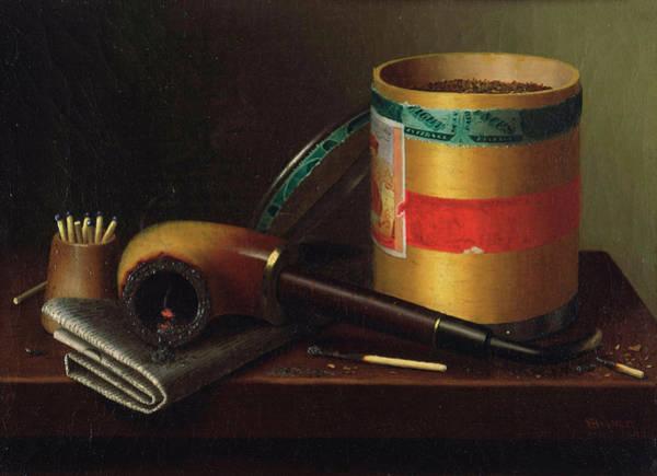 Munich Painting - Still Life by William Michael Harnett