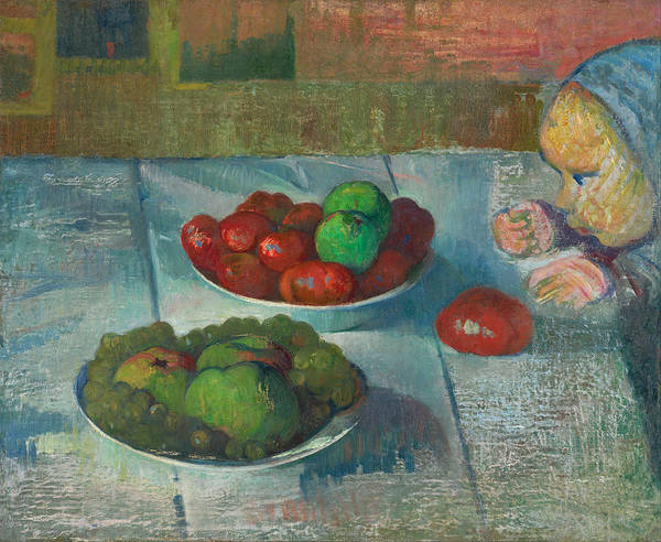 Meijer Painting - Still Life With A Profile Of Mimi by Meijer Isaac de Haan