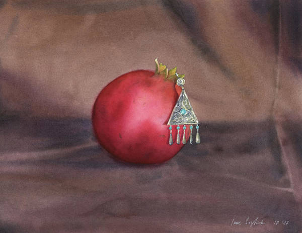 Wall Art - Painting - Still Life With Earring by Zapista Zapista