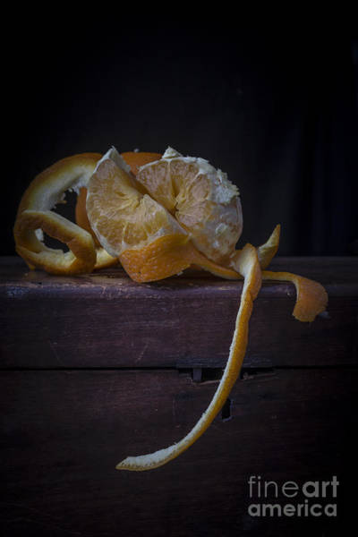 Peel Photograph - Still Life With Orange by Edward Fielding
