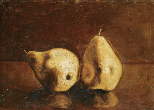 Painting - Still Life With Pears by Nikiforos Lytras