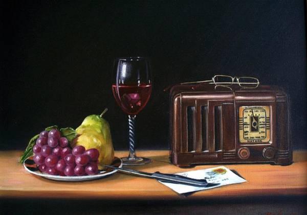 Still Life With Radio Art Print