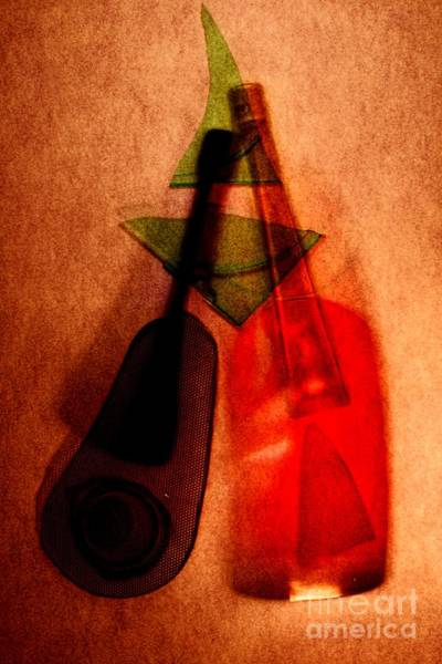 Alexander Vinogradov Photograph - Still Life With The Bottles. by Alexander Vinogradov