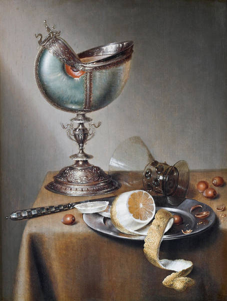 Food Groups Painting - Still by Marten Boelema De Stomme