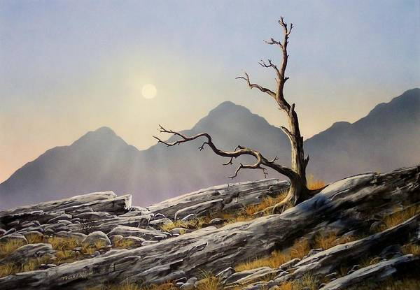 Alpine Meadow Painting - Still Standing by Frank Wilson