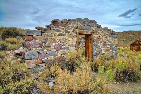 Photograph - Still Standing In Bodie Ghost Town by Lynn Bauer