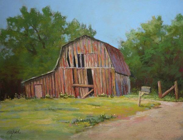 Wall Art - Painting - Still Standing by Paula Ann Ford