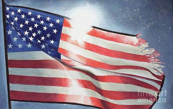 World War 11 Painting - Still There by Cathy Klopfenstein